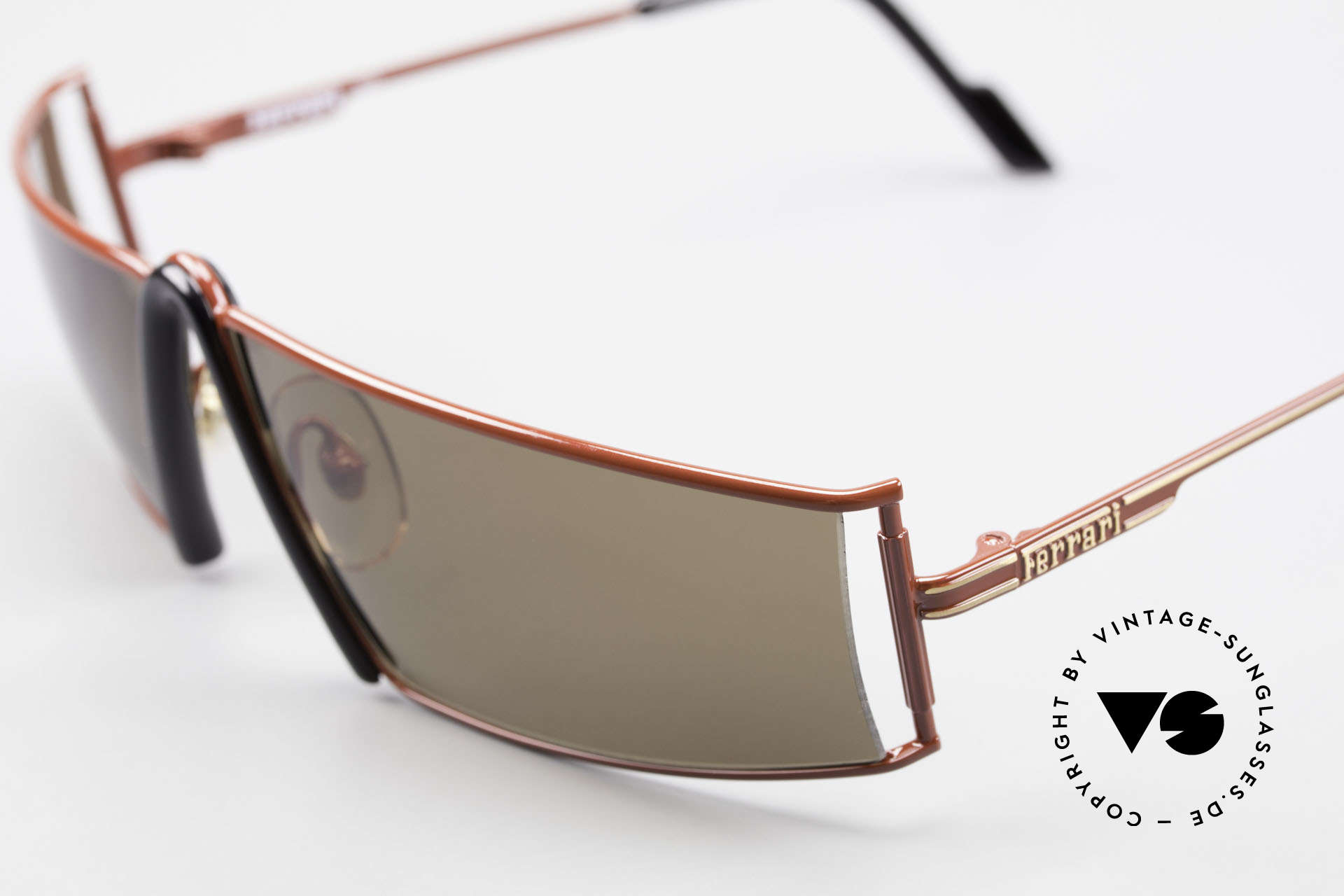 Ferrari F19/S Shades Like XL Reading Glasses, precious designer sunglasses from the early 1990's, Made for Men