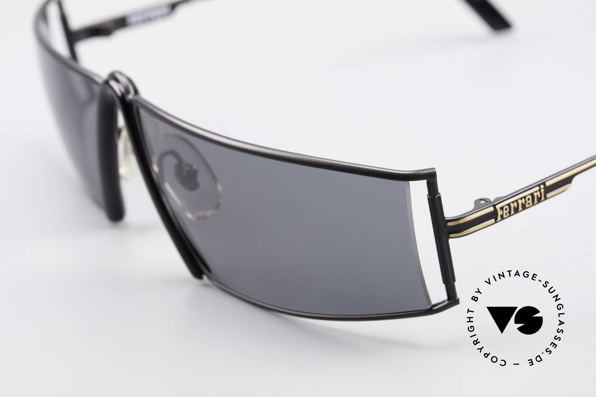 Ferrari F19/S Shades Like XL Reading Specs, precious designer sunglasses from the early 1990's, Made for Men