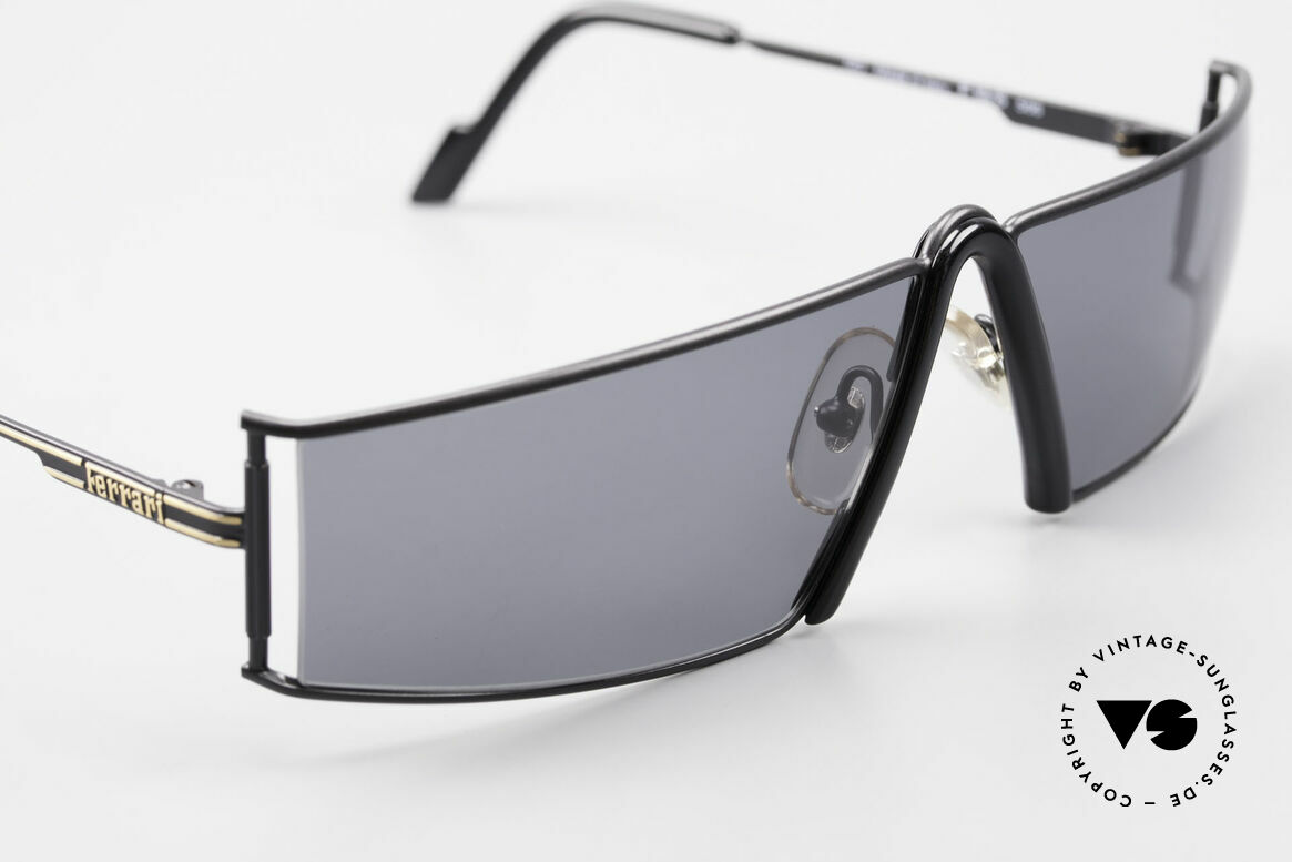 Ferrari F19/S Shades Like XL Reading Specs, never worn (like all our rare vintage Ferrari shades), Made for Men