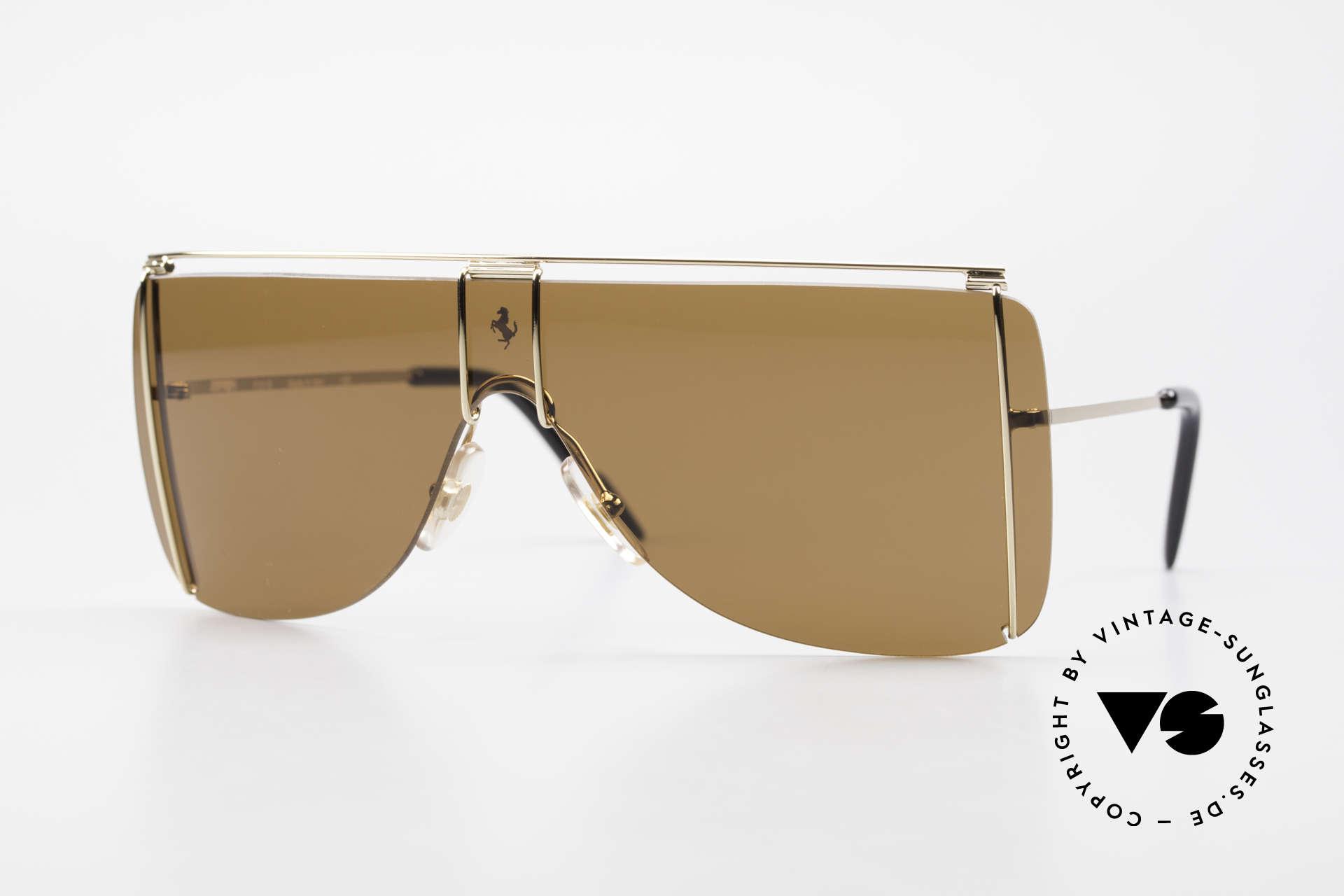 Ferrari F20/S Kylie Jenner Sunglasses, sporty 90's luxury sunglasses by famous Ferrari, Made for Men and Women