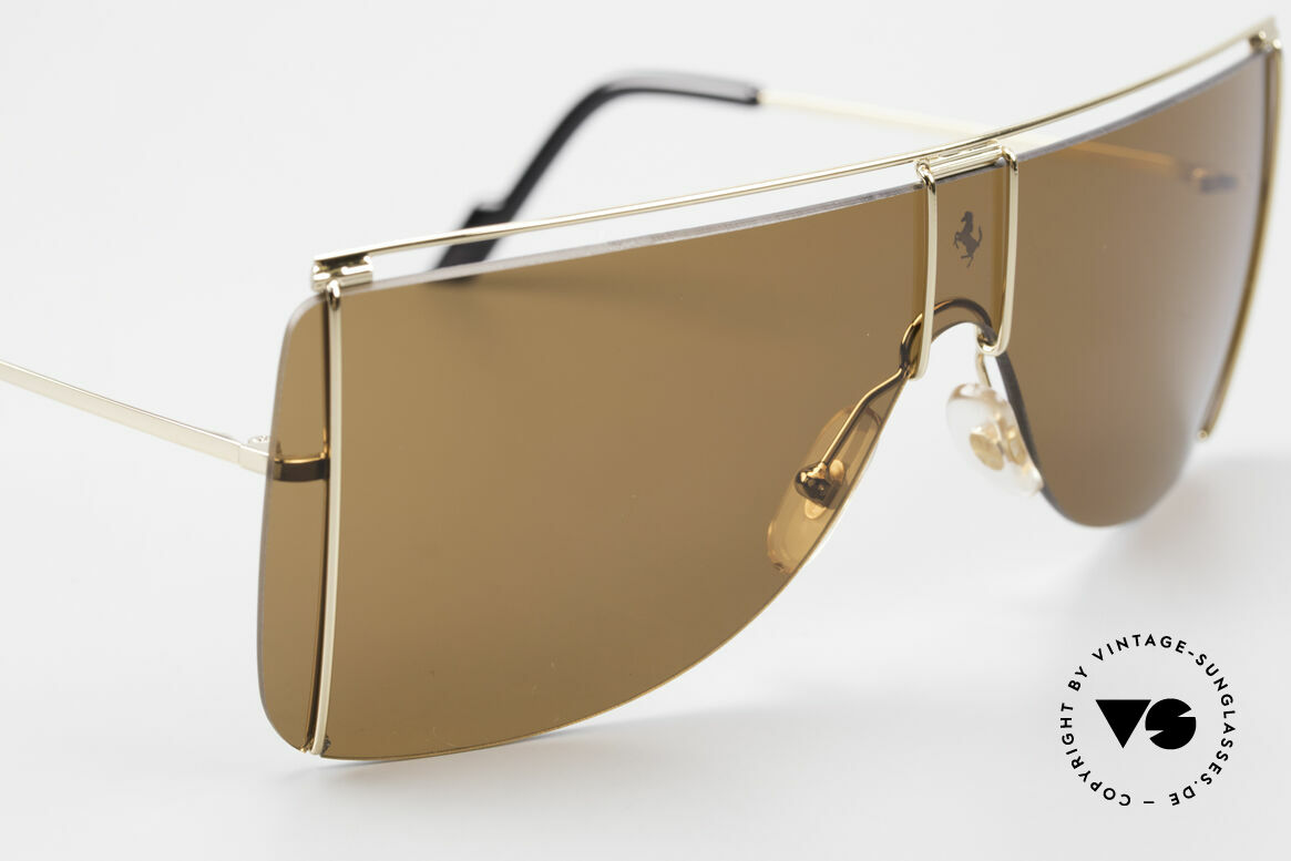 Ferrari F20/S Kylie Jenner Sunglasses, never worn (like all our vintage FERRARI shades), Made for Men and Women