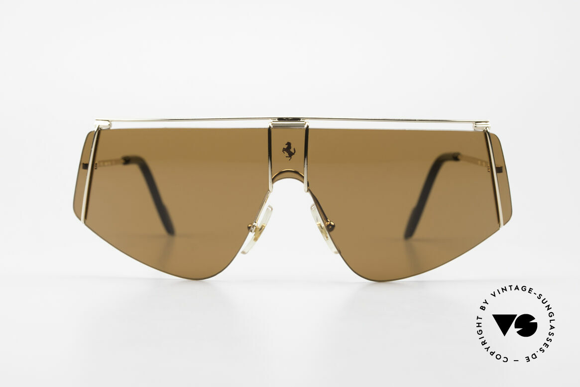 Ferrari F15/S Luxury Sports Sunglasses 90's, finest quality and superior materials from Italy, Made for Men and Women