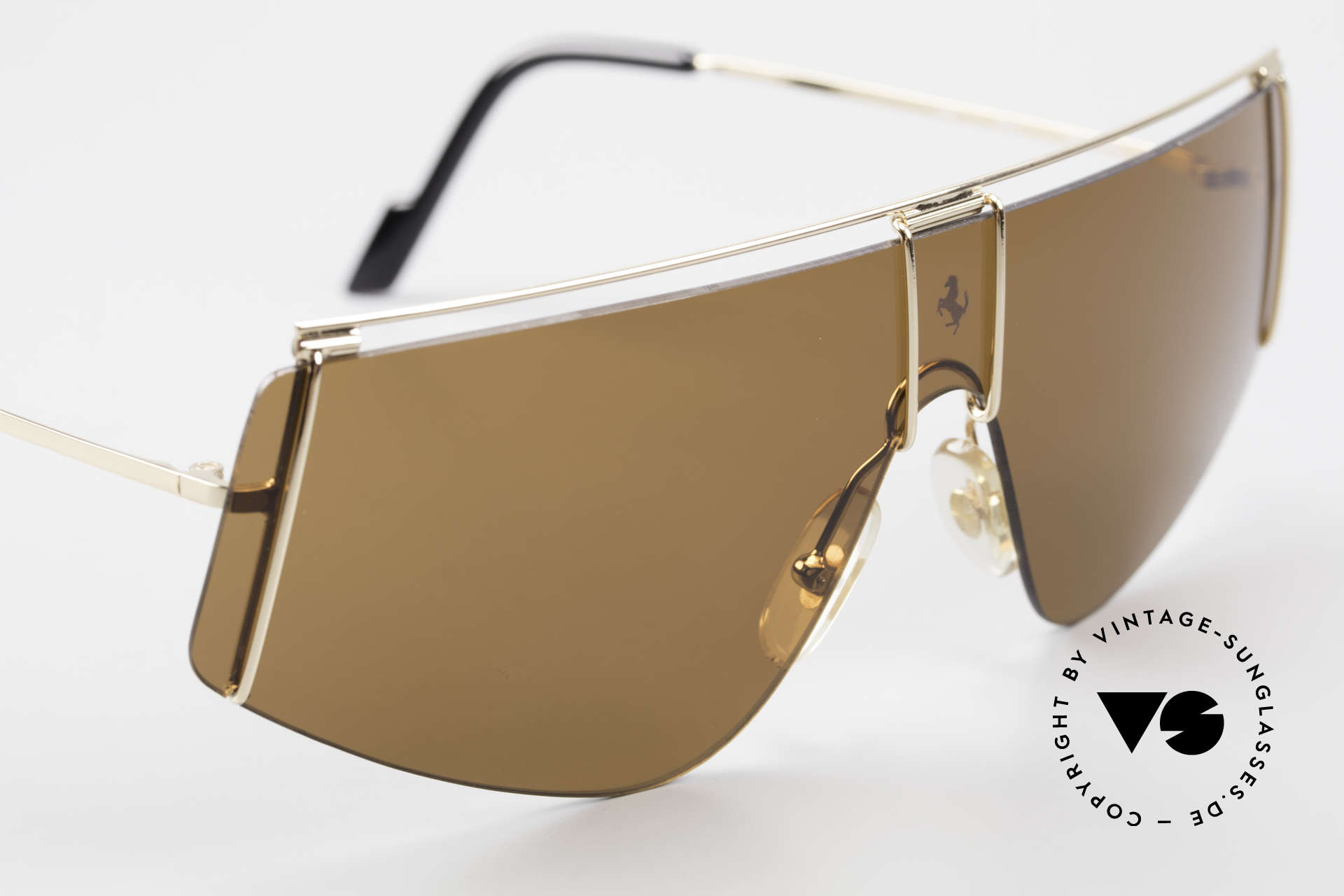 Ferrari F15/S Luxury Sports Sunglasses 90's, never worn (like all our vintage FERRARI shades), Made for Men and Women