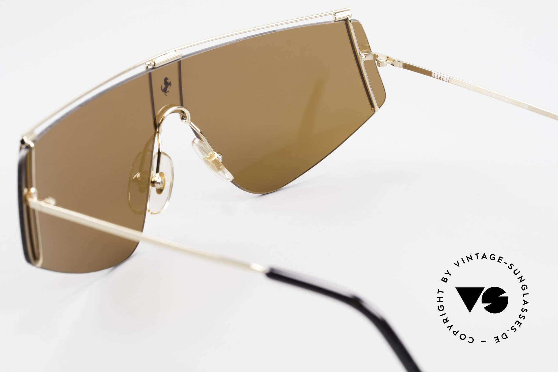Ferrari F15/S Luxury Sports Sunglasses 90's, Size: medium, Made for Men and Women