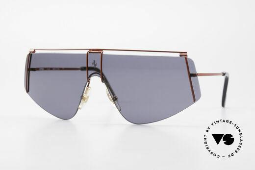 Ferrari F15/S 90's Luxury Sports Sunglasses Details