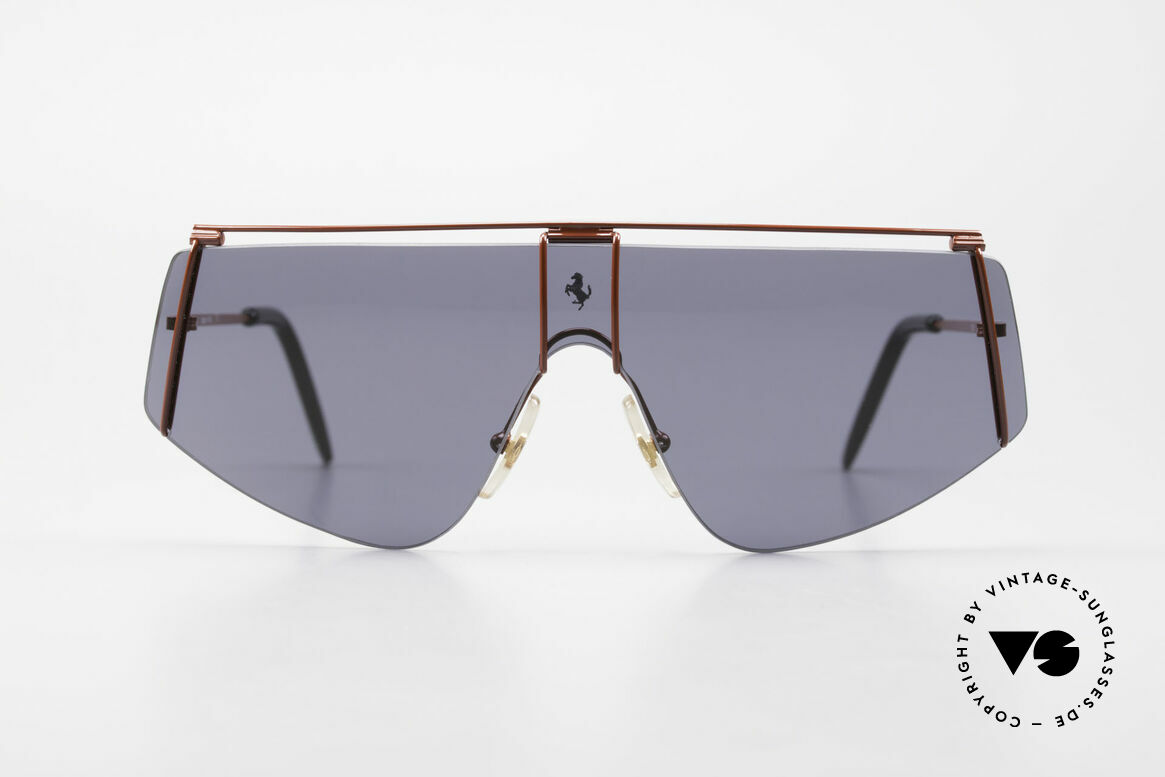 Ferrari F15/S 90's Luxury Sports Sunglasses, finest quality and superior materials from Italy, Made for Men and Women