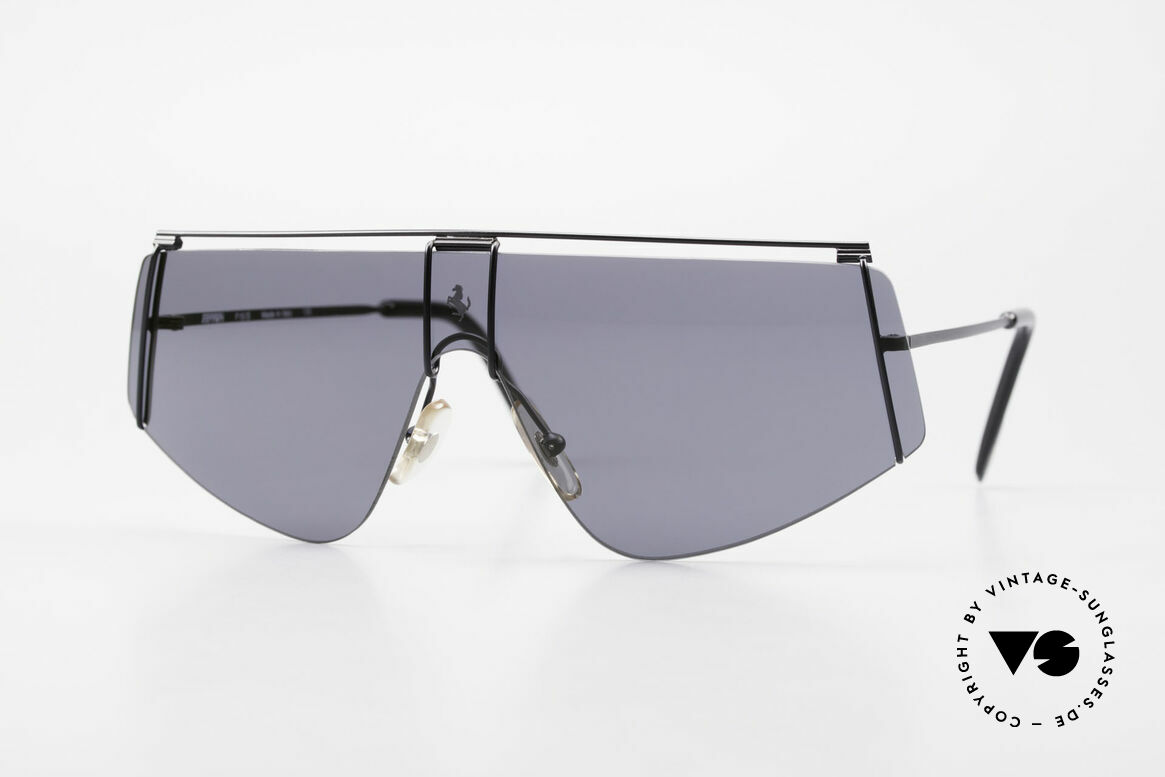 Ferrari F15/S Luxury 90's Sports Sunglasses, sporty 90's luxury sunglasses by famous Ferrari, Made for Men and Women