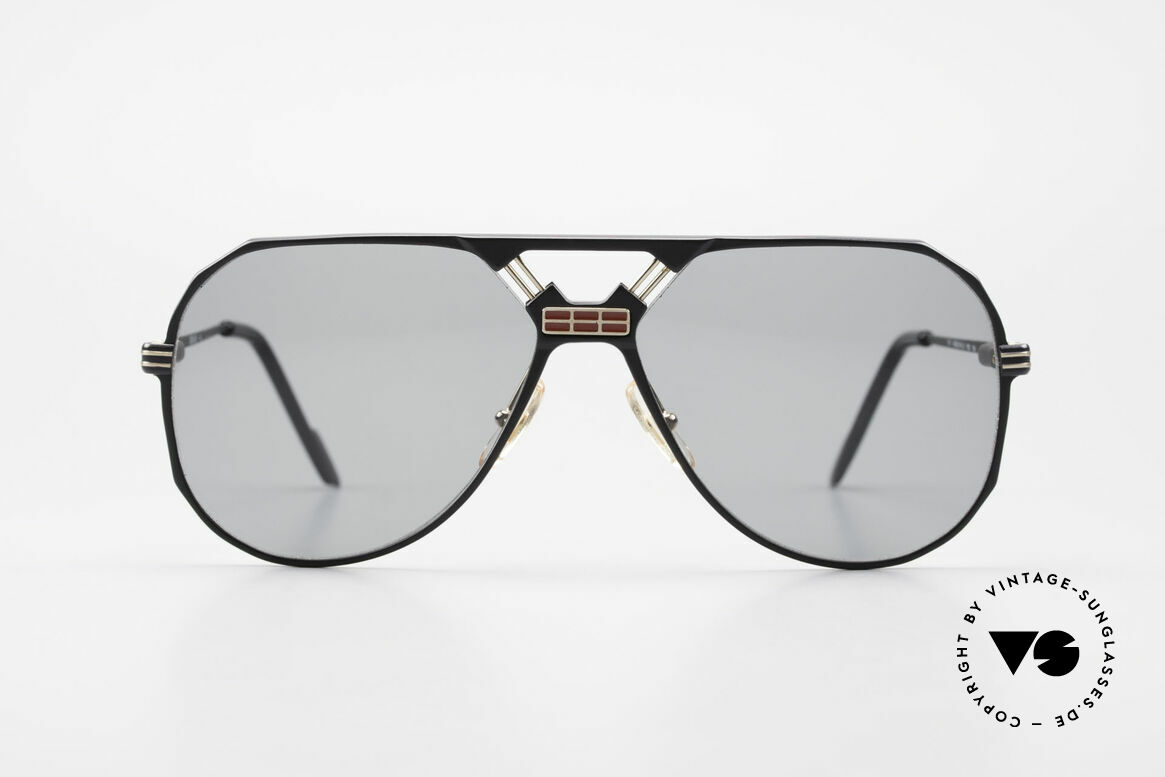 Ferrari F23/S 90's Aviator Sports Sunglasses, 1st class wearing comfort thanks to spring hinges, Made for Men