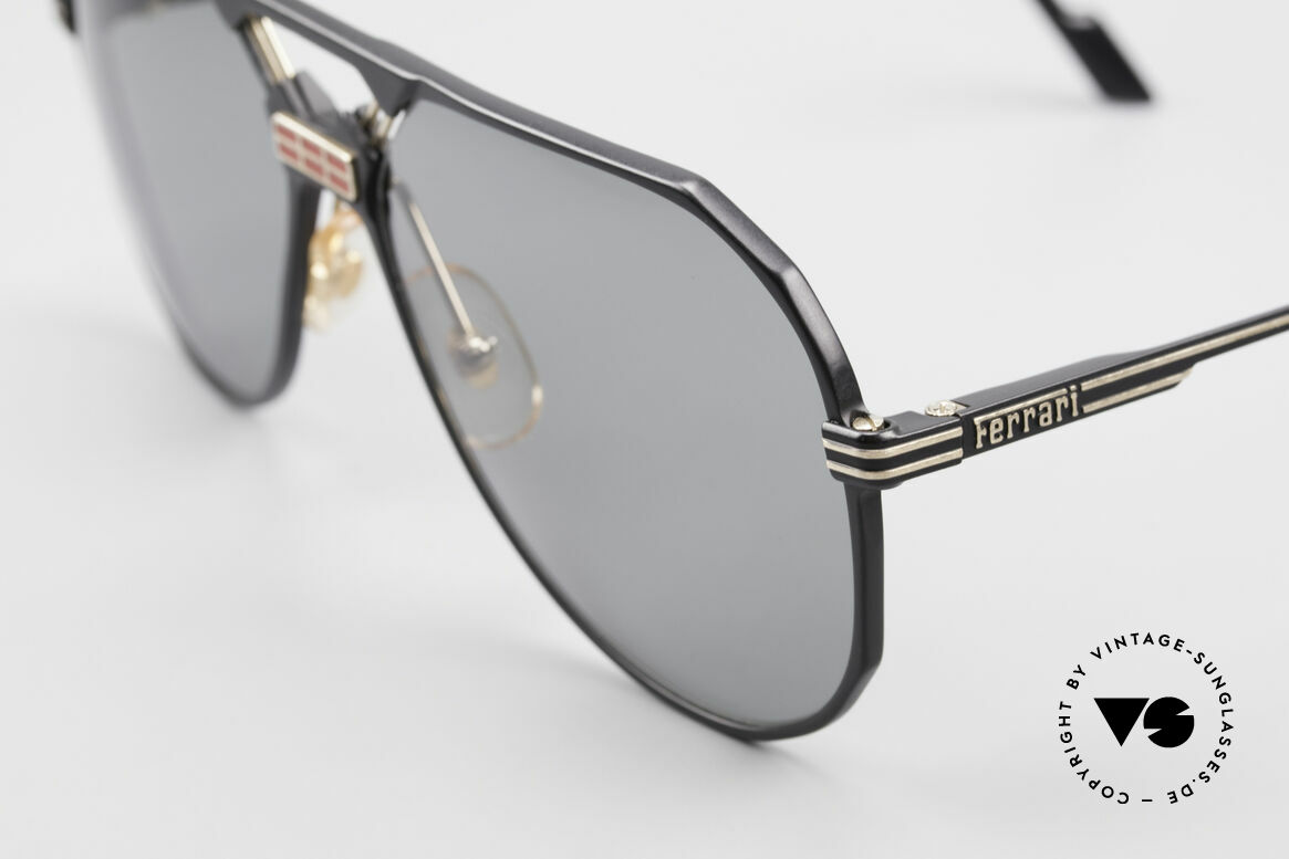 Ferrari F23/S 90's Aviator Sports Sunglasses, striking bridge; size 62/15, 140, F23/S, color 586, Made for Men