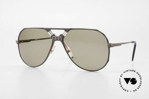 Ferrari F23/S Aviator Sports Sunglasses 90's Details