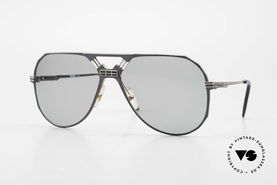 Ferrari F23/S 90's Aviator Sports Sunglasses, very masculine aviator-shades by famous FERRARI, Made for Men