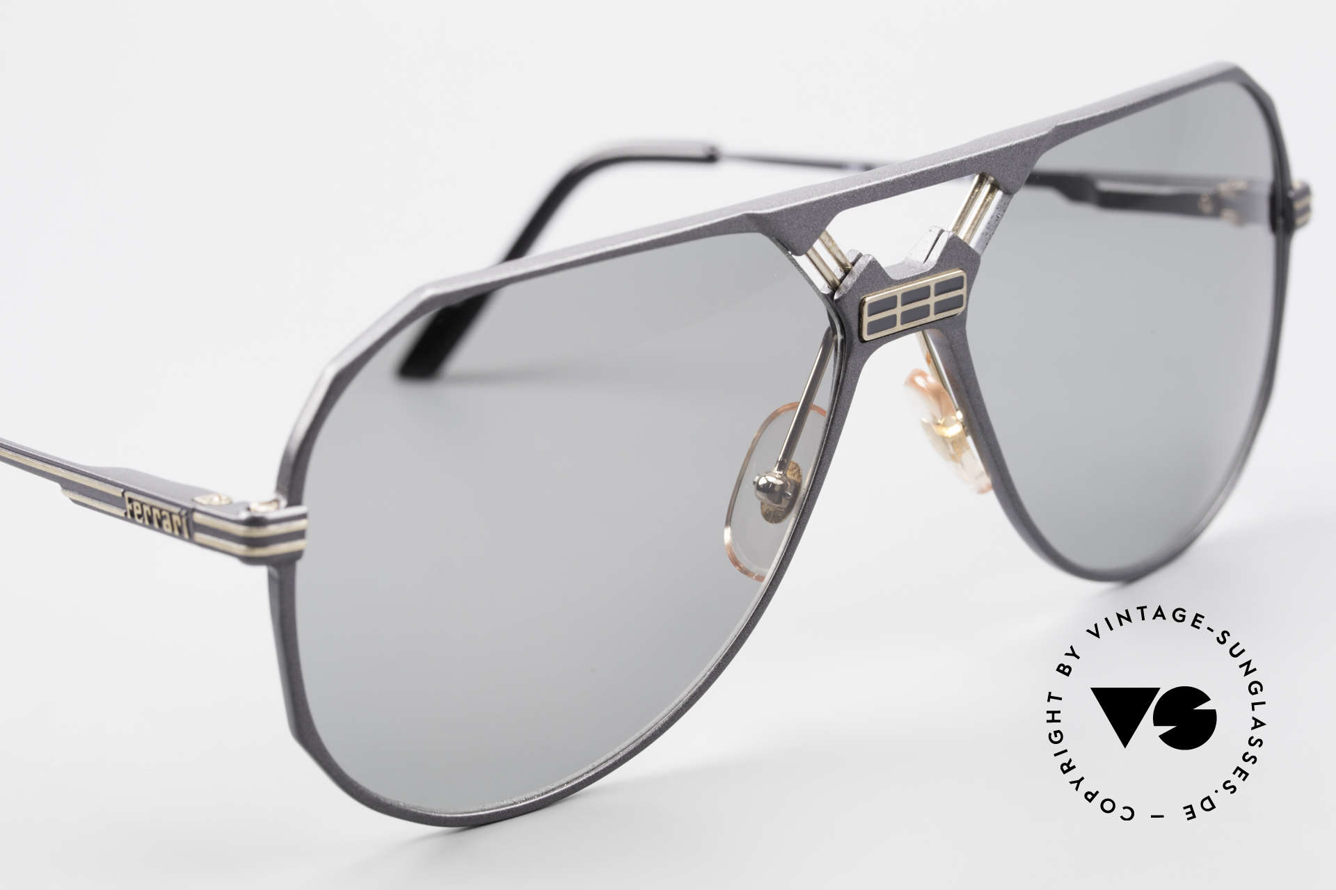 Ferrari F23/S 90's Aviator Sports Sunglasses, never worn (like all our vintage Ferrari sunglasses), Made for Men