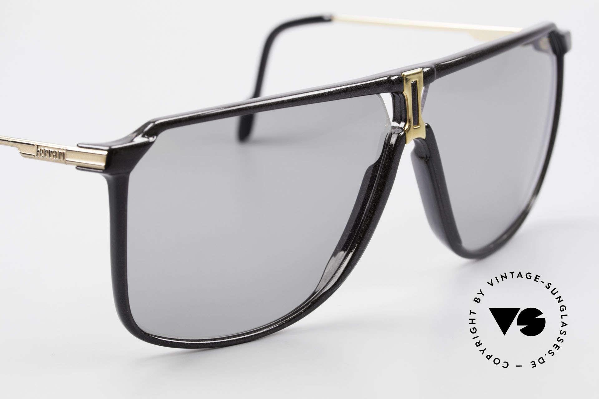 Ferrari F37/S Carbonio Sunglasses 90's XL, unworn (like all our rare Ferrari designer sunglasses), Made for Men