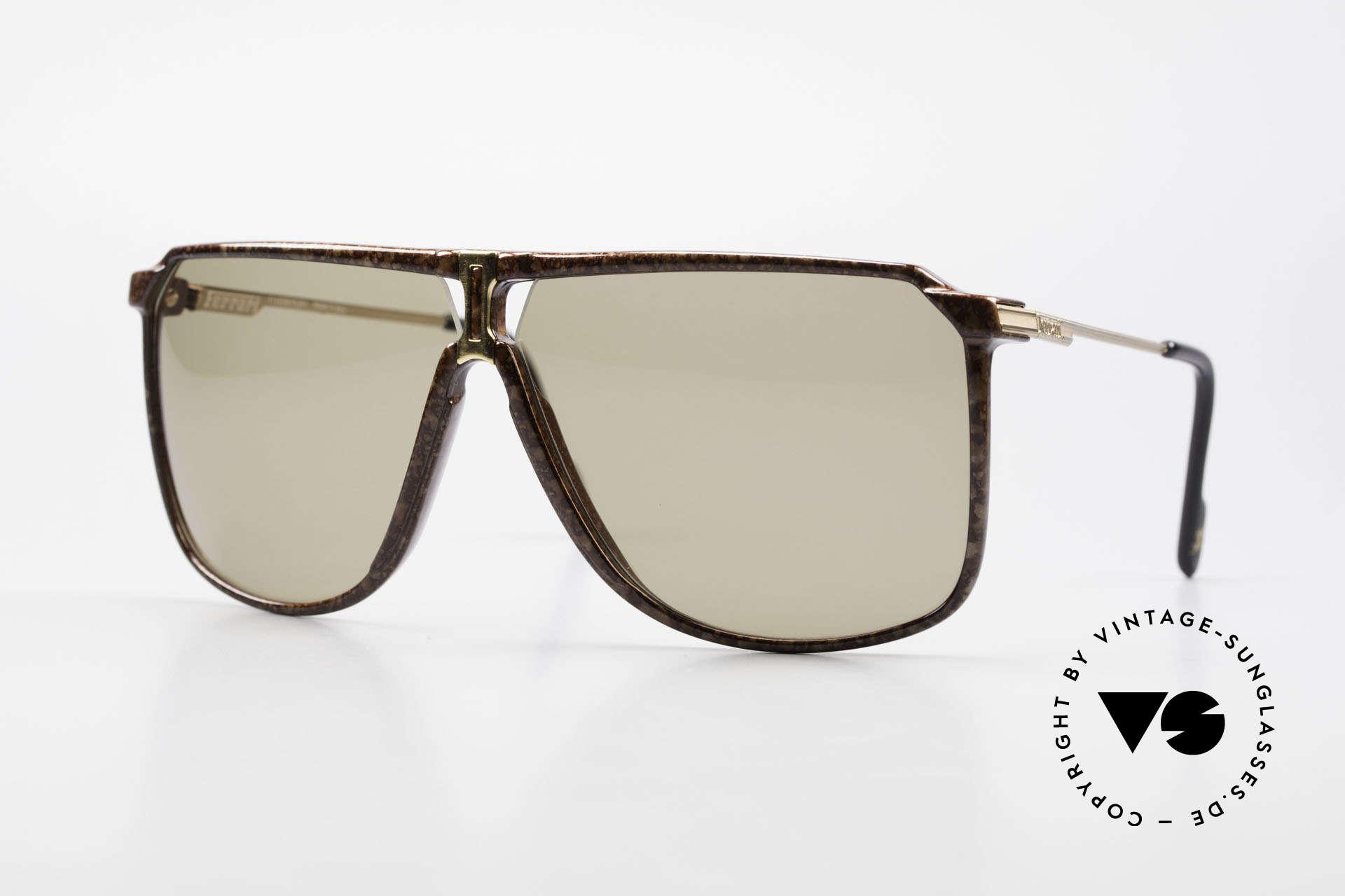 Ferrari F37/S 90's XL Sunglasses Carbonio, luxury carbon sunglasses by Ferrari from the 1990's, Made for Men