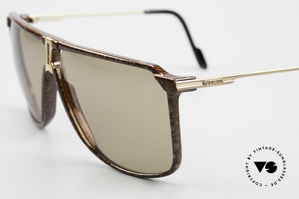 Ferrari F37/S 90's XL Sunglasses Carbonio, rare vintage shades of the FERRARI FORMULA series, Made for Men