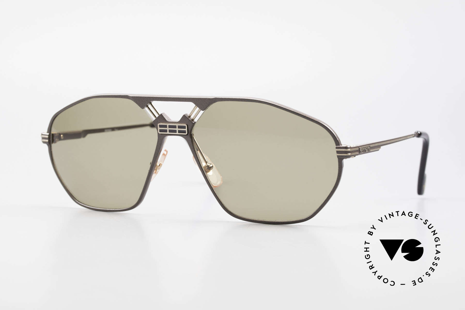 Ferrari F22/S Men's Rare Vintage XL Shades, luxury designer sunglasses by Ferrari from 1992/93, Made for Men