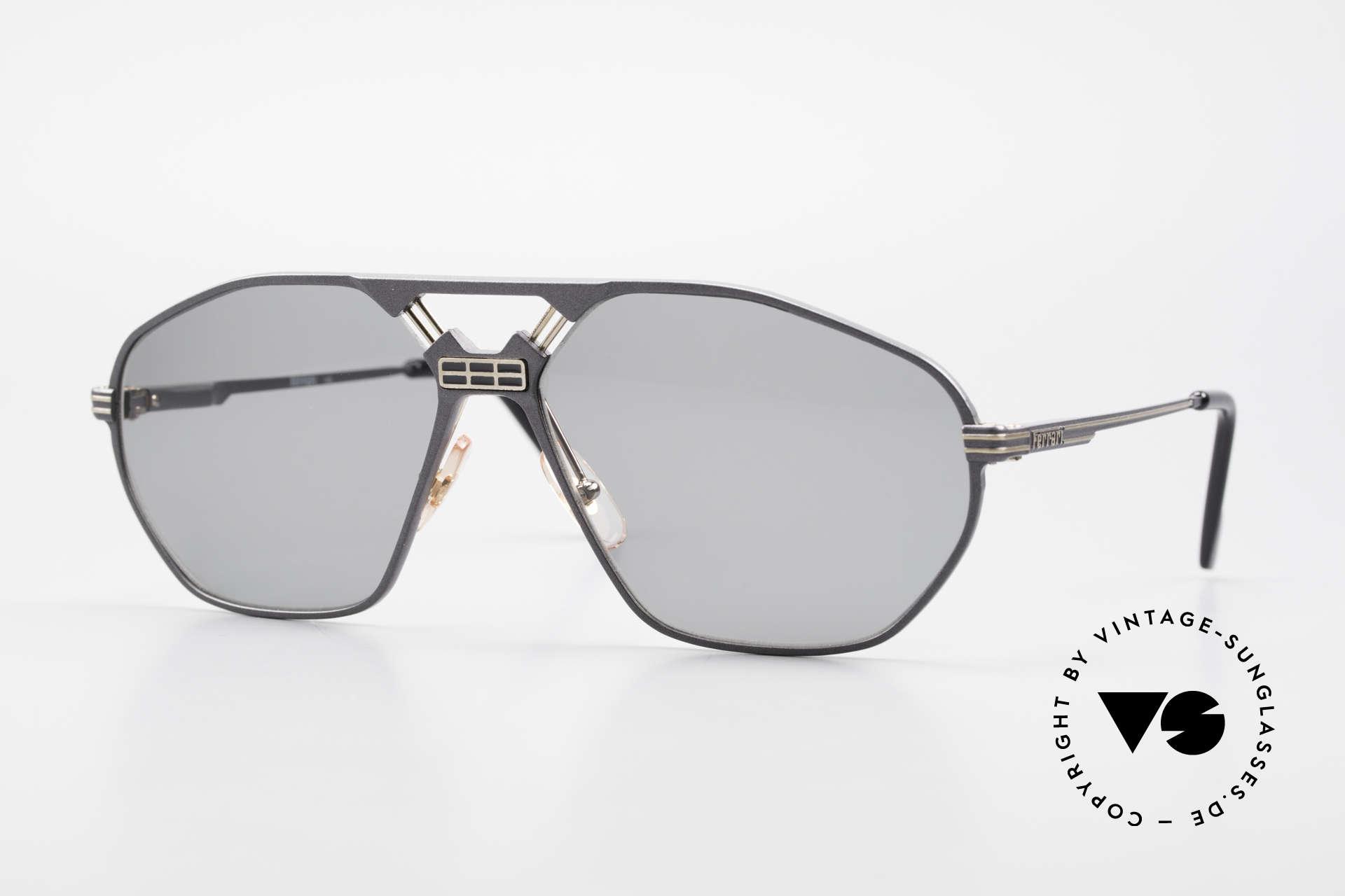 Ferrari F22/S Men's Rare Vintage Shades XL, luxury designer sunglasses by Ferrari from 1992/93, Made for Men