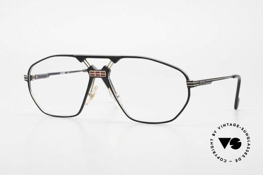 Ferrari F22 Men's Rare Vintage Glasses 90s Details