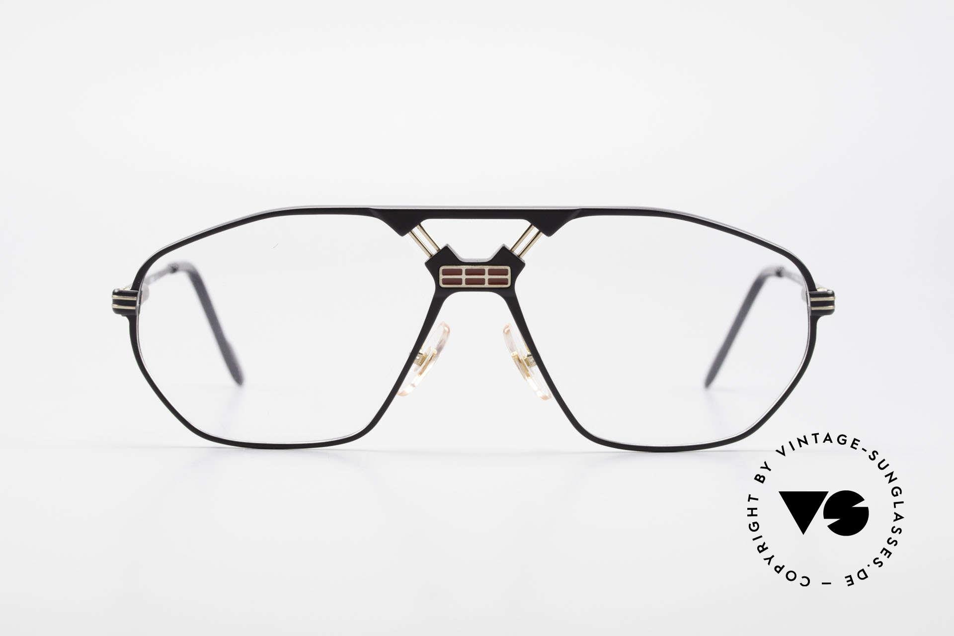 Ferrari F22 Men's Rare Vintage Glasses 90s, striking frame construction (very interesting bridge), Made for Men