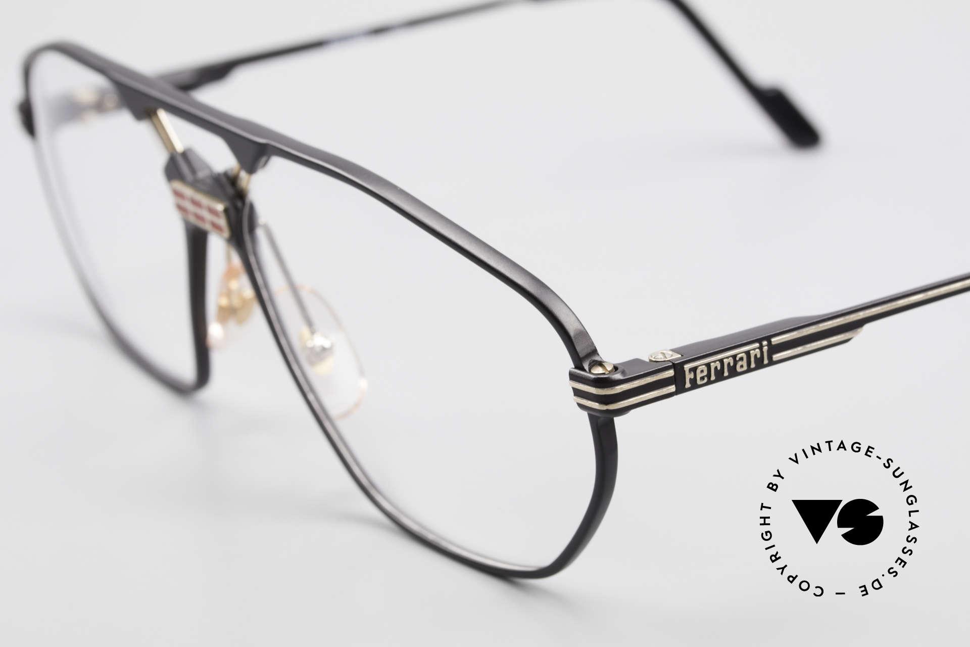 Ferrari F22 Men's Rare Vintage Glasses 90s, never worn (like all our RARE vintage Ferrari frames), Made for Men