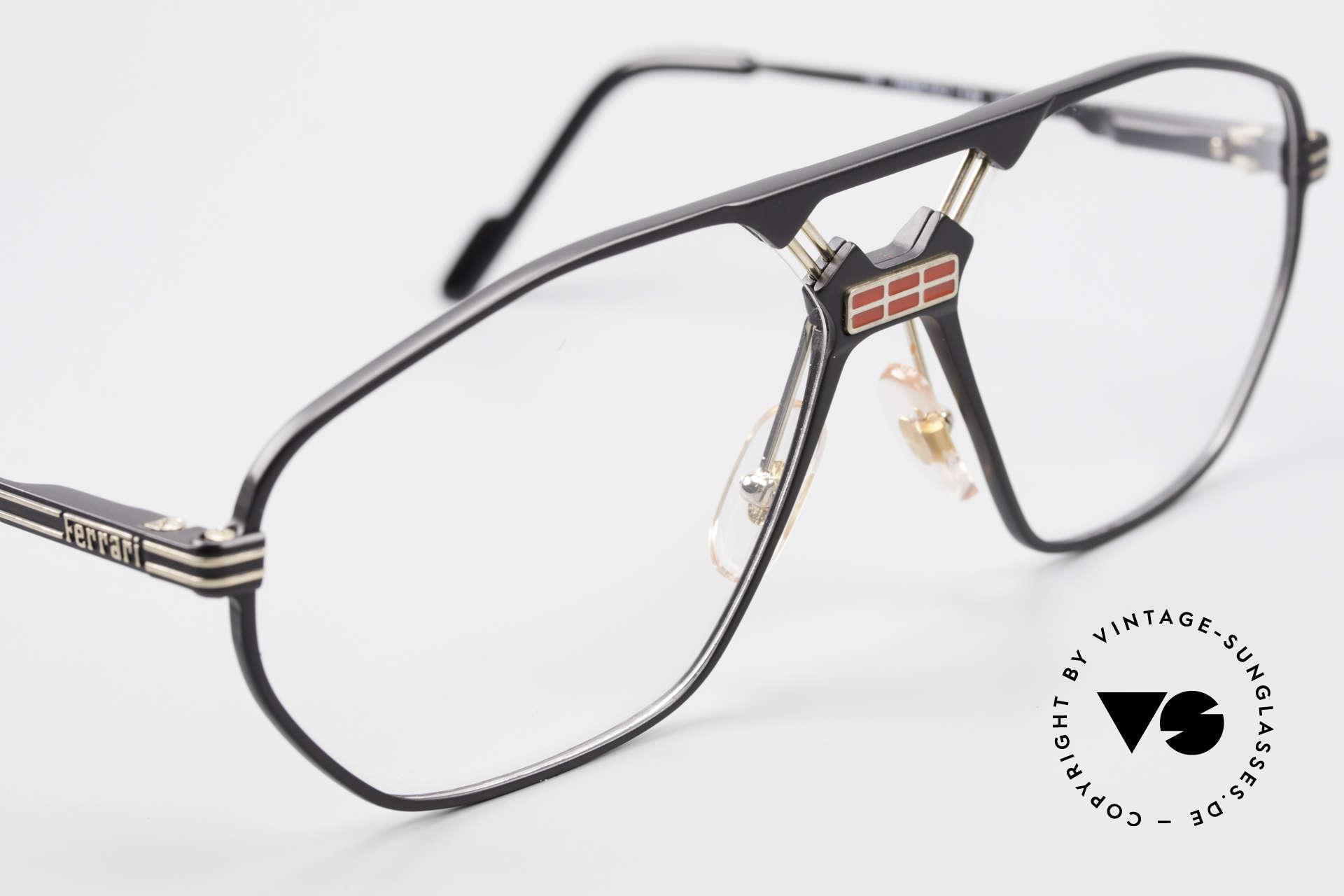Ferrari F22 Men's Rare Vintage Glasses 90s, NO RETRO fashion; a unique classic of the early 90's, Made for Men