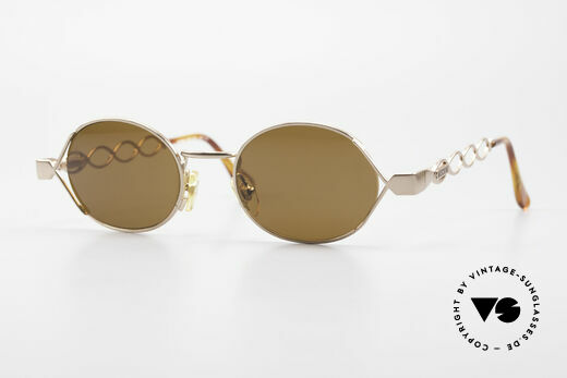 Moschino MM344 Ladies Designer Sunglasses 90s Details