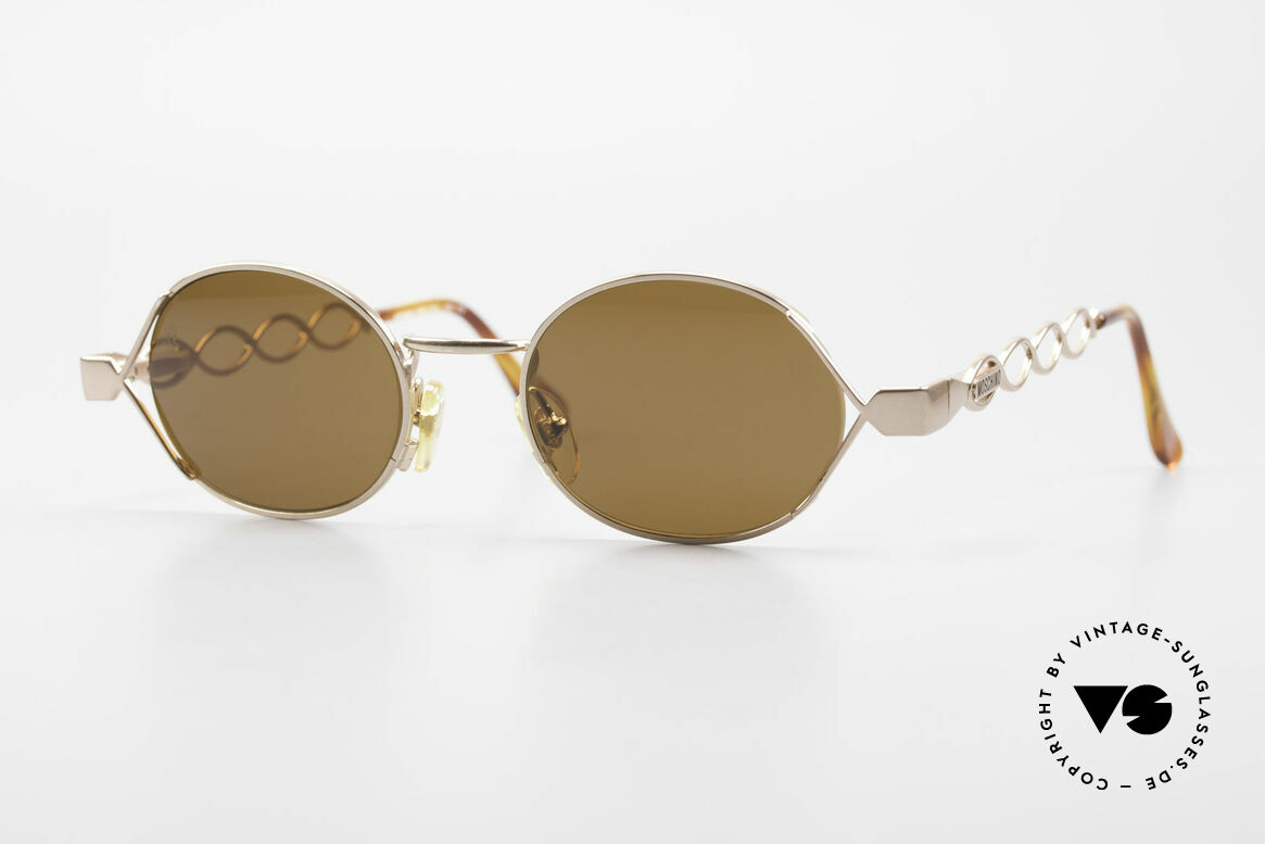 Moschino MM344 Ladies Designer Sunglasses 90s, enchanting vintage 90's sunglasses by MOSCHINO, Made for Women