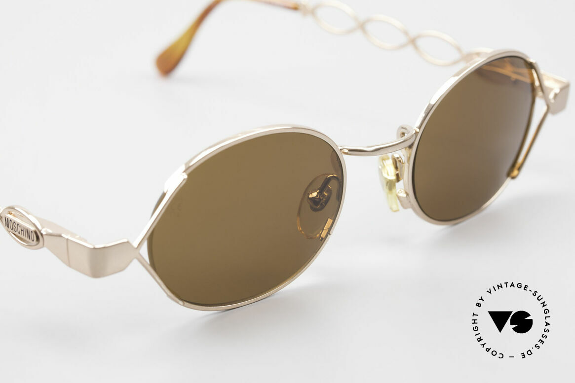 Moschino MM344 Ladies Designer Sunglasses 90s, never worn (like all our Moschino by Persol shades), Made for Women