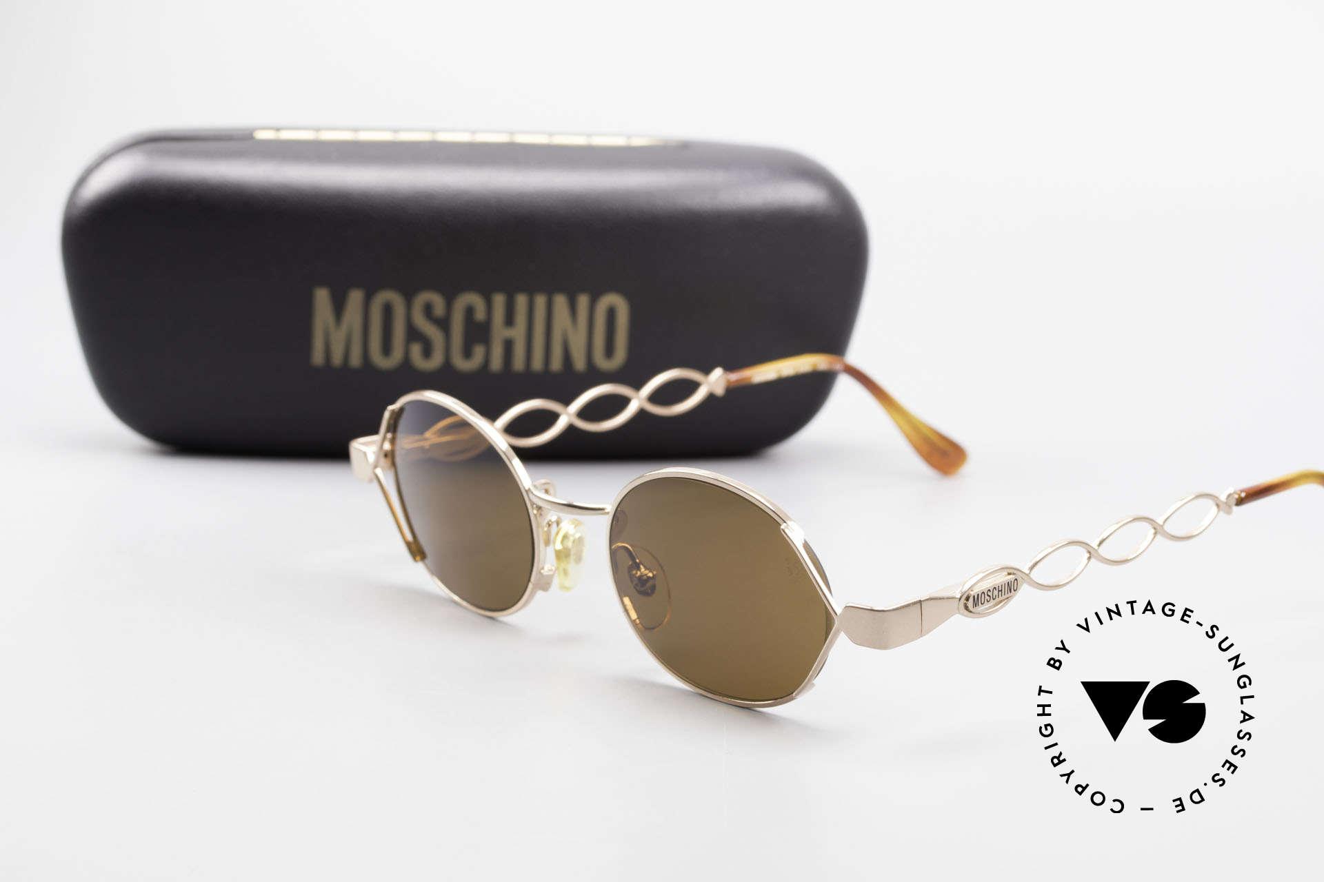 Moschino MM344 Ladies Designer Sunglasses 90s, Size: medium, Made for Women