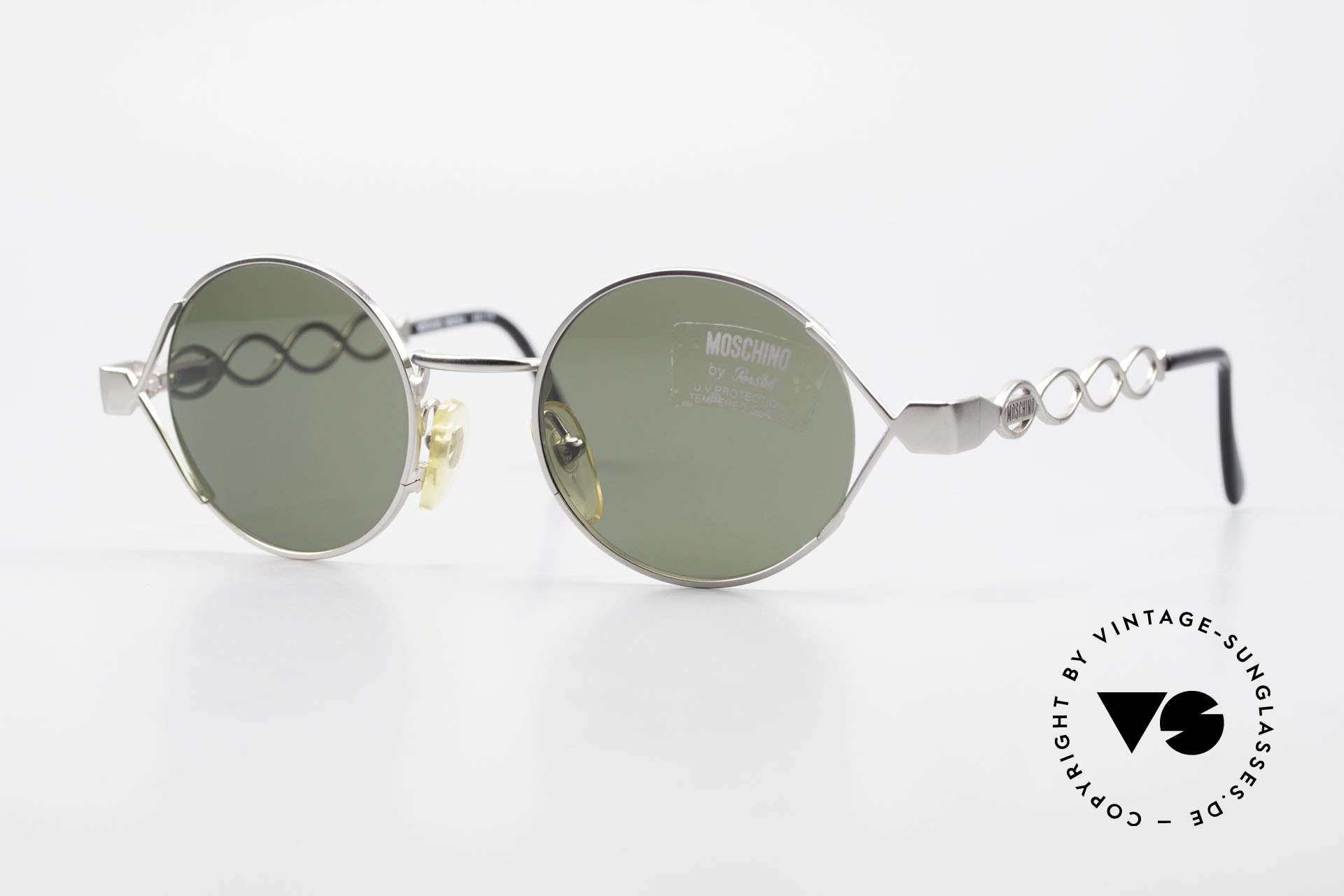 Moschino MM264 90s Ladies Designer Sunglasses, enchanting vintage 90's sunglasses by MOSCHINO, Made for Women
