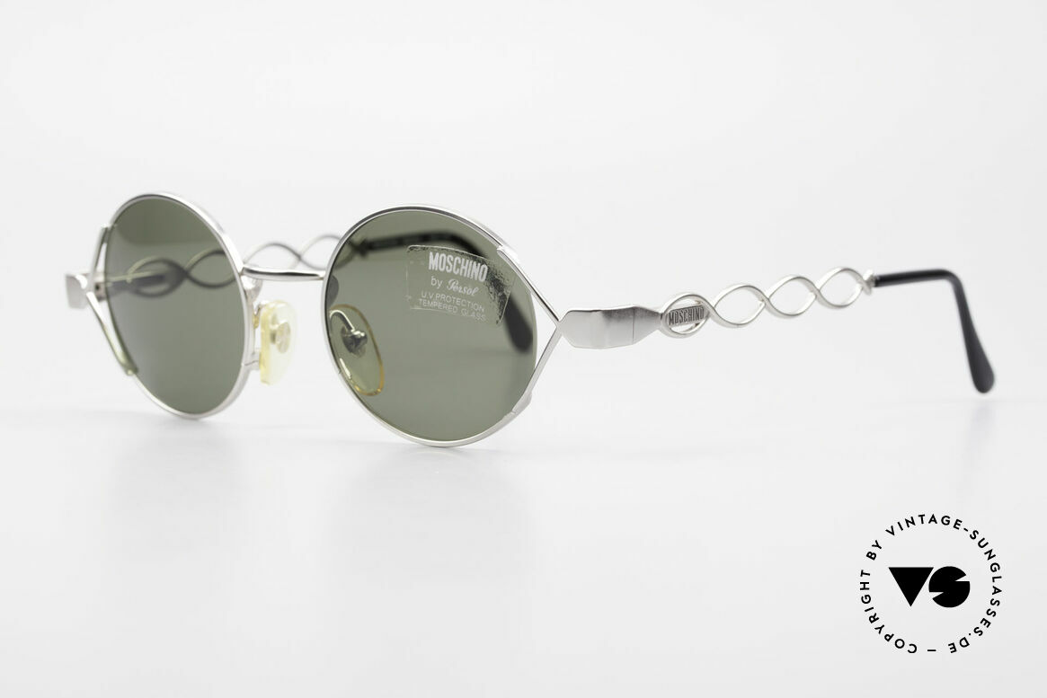 Moschino MM264 90s Ladies Designer Sunglasses, Persol produced the Moschino creations in the 90s, Made for Women