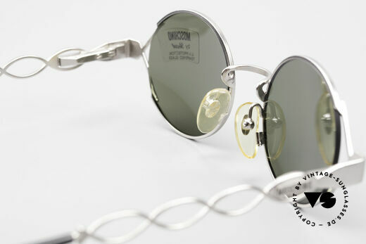Moschino MM264 90s Ladies Designer Sunglasses, NO RETRO fashion, but a 25 years old unique rarity, Made for Women