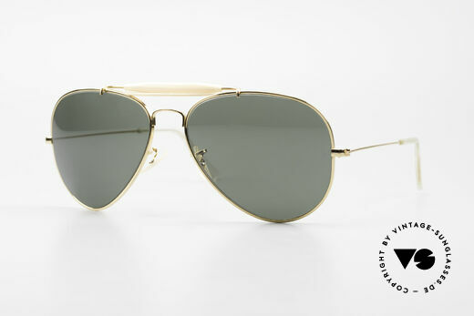 Ray Ban Outdoorsman II B&L USA Shades Limited Edition Details