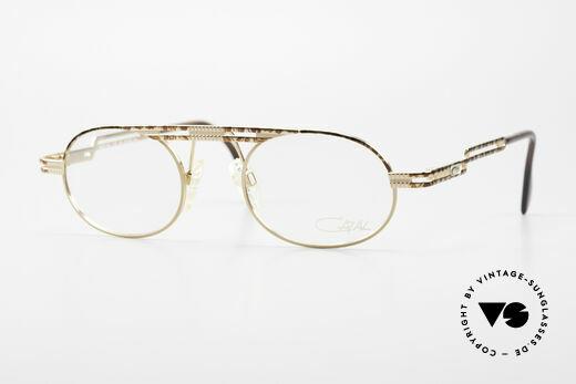 Cazal 762 Oval Vintage Eyeglasses 90's Details