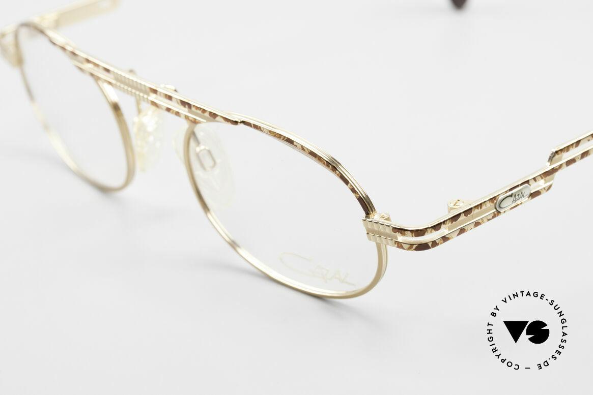 Cazal 762 Oval Vintage Eyeglasses 90's, unworn (like all our rare vintage Cazal eyeglasses), Made for Men and Women