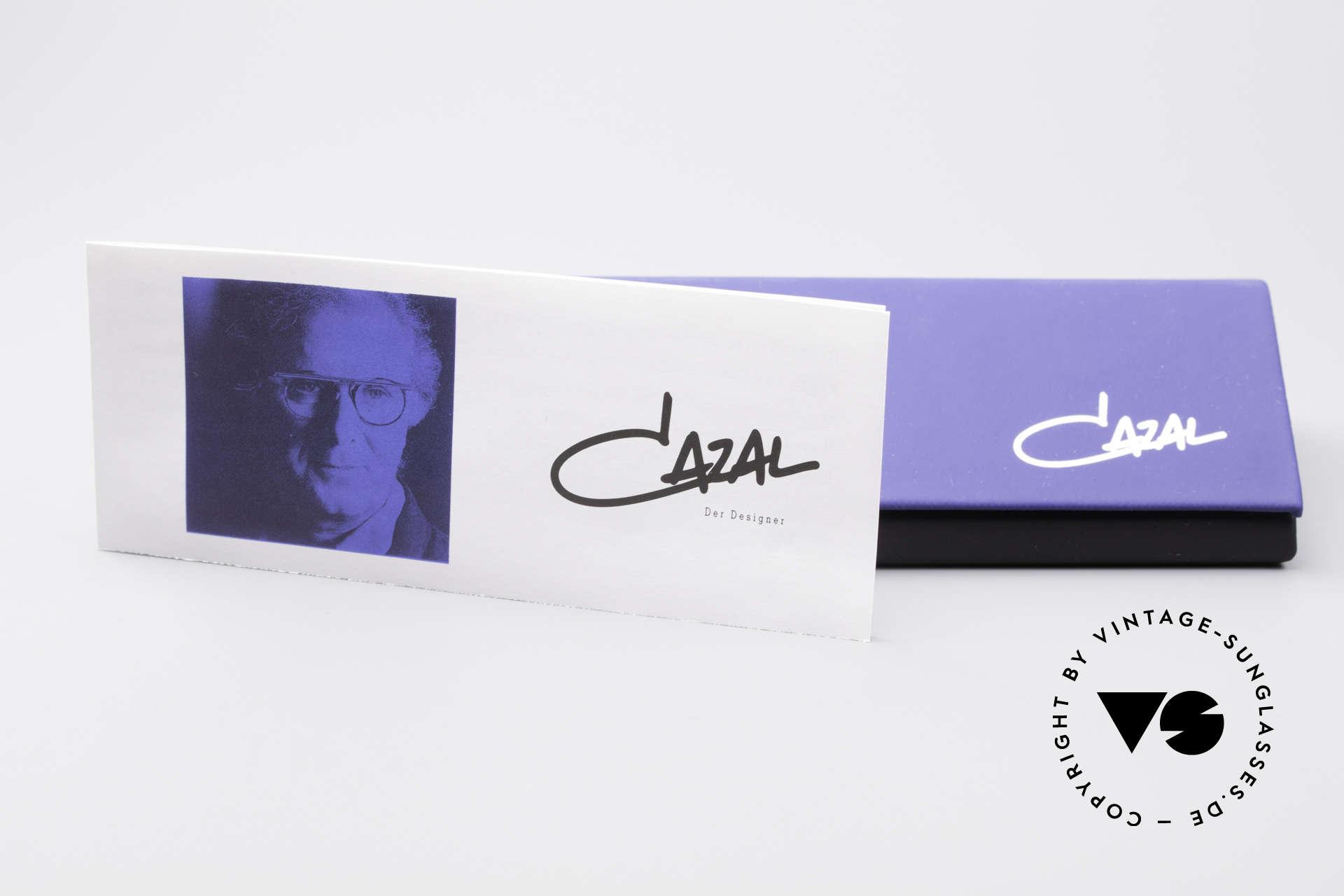 Cazal 762 Oval Vintage Eyeglasses 90's, Size: large, Made for Men and Women