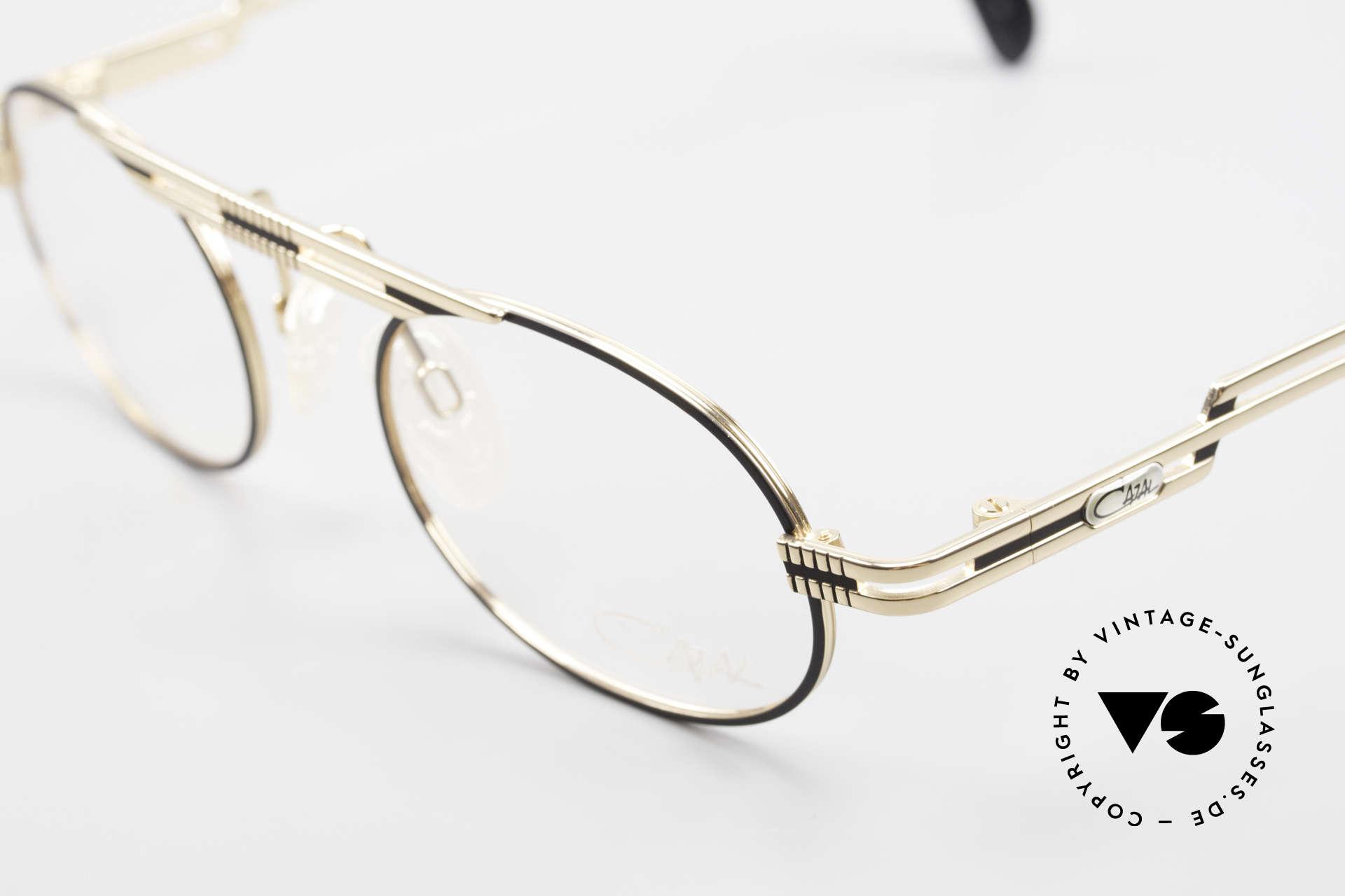 Cazal 762 Oval 90's Vintage Eyeglasses, unworn (like all our rare vintage Cazal eyeglasses), Made for Men and Women