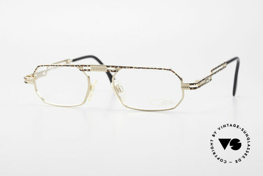 Cazal 767 Square Vintage Eyeglasses 90's Details