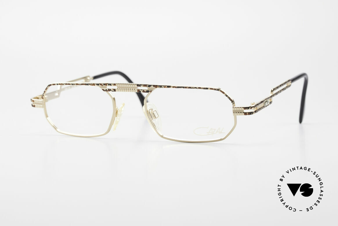 Cazal 767 Square Vintage Eyeglasses 90's, square vintage eyeglass-frame by CAZAL from 1997, Made for Men and Women
