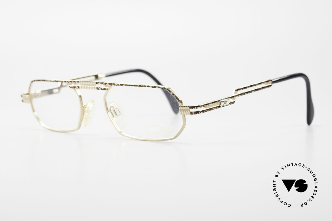 Cazal 767 Square Vintage Eyeglasses 90's, high-grade crafting and 1st class wearing comfort, Made for Men and Women