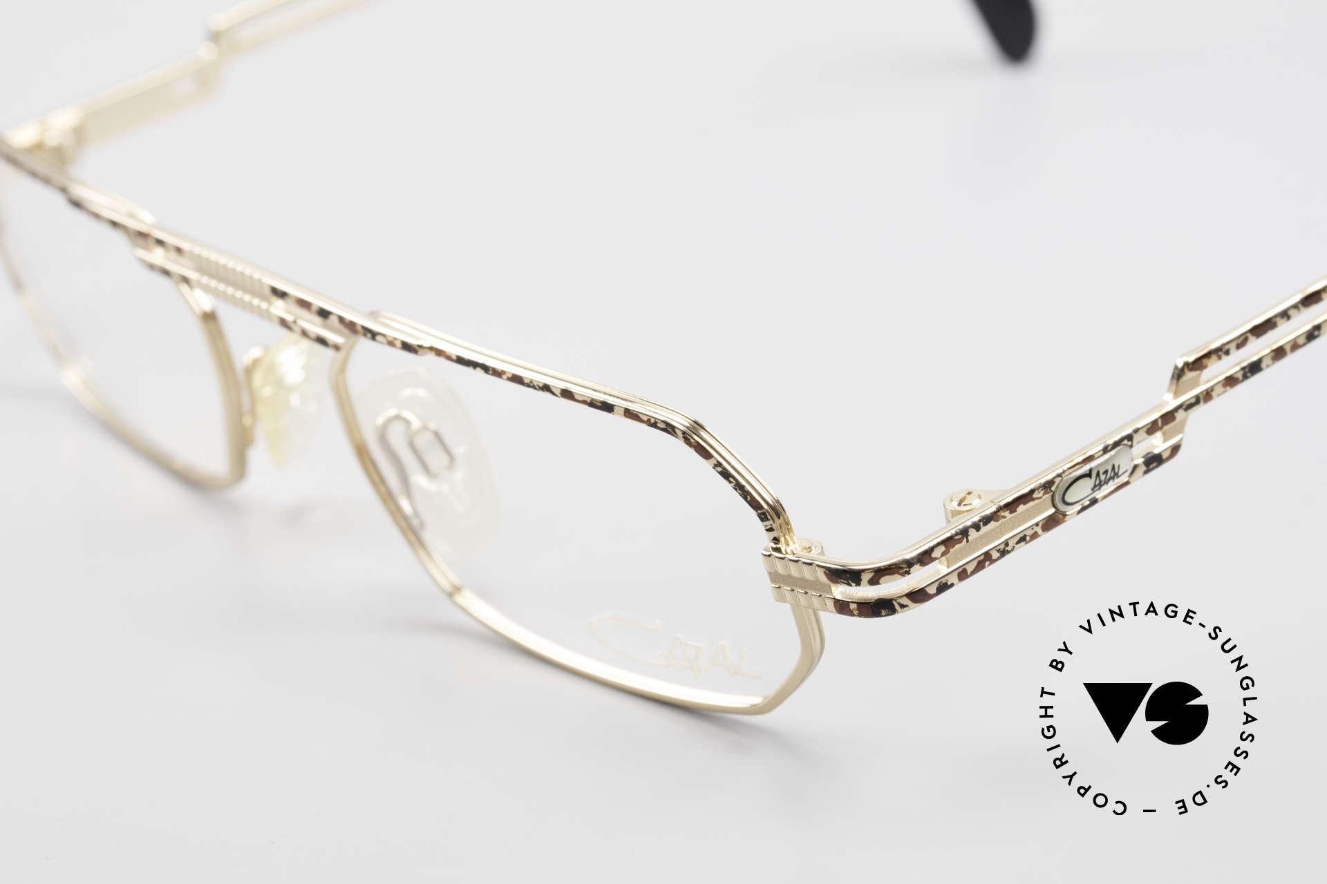 Cazal 767 Square Vintage Eyeglasses 90's, unworn (like all our rare vintage Cazal eyeglasses), Made for Men and Women