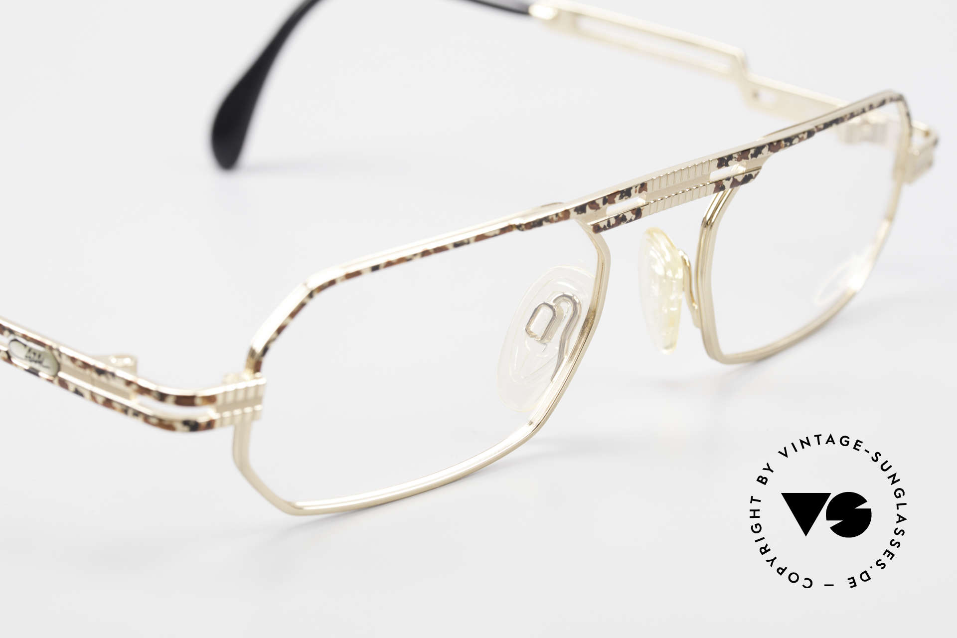 Cazal 767 Square Vintage Eyeglasses 90's, NO retro; but a 1990's 'made in Germany' original, Made for Men and Women