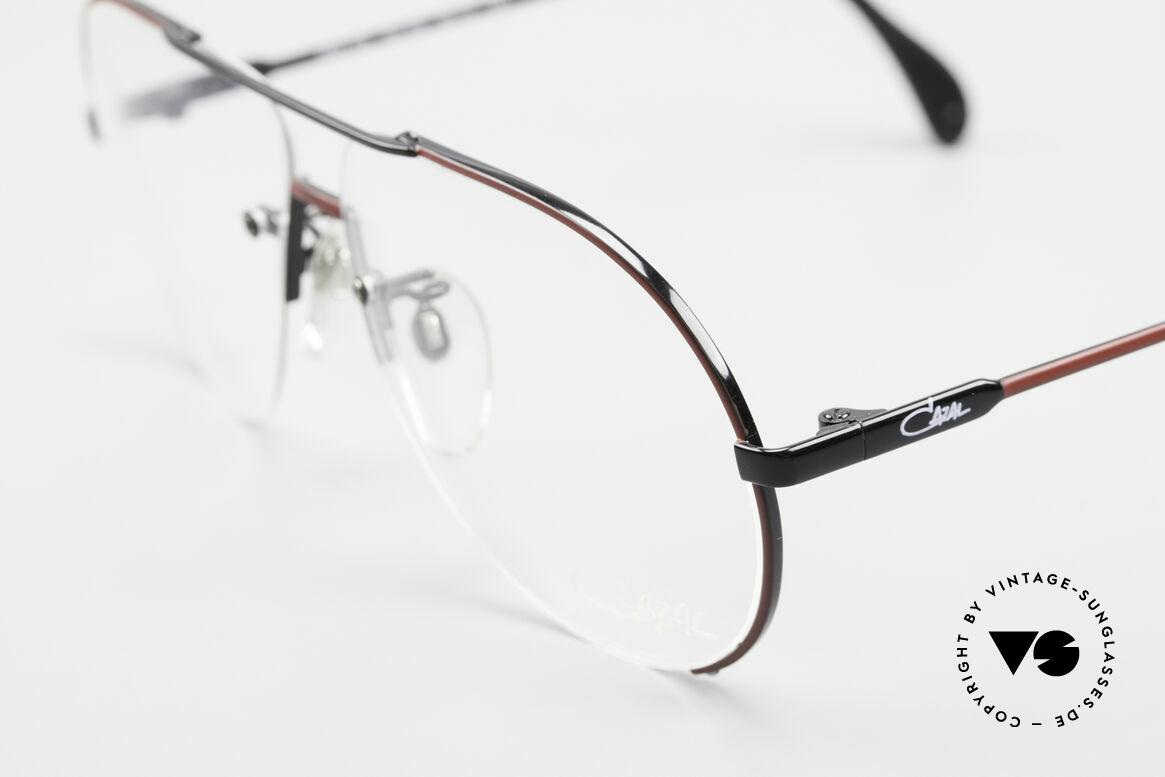 Cazal 723 Rimless 80's Aviator Glasses, something really different (distinctive CAri ZALloni), Made for Men