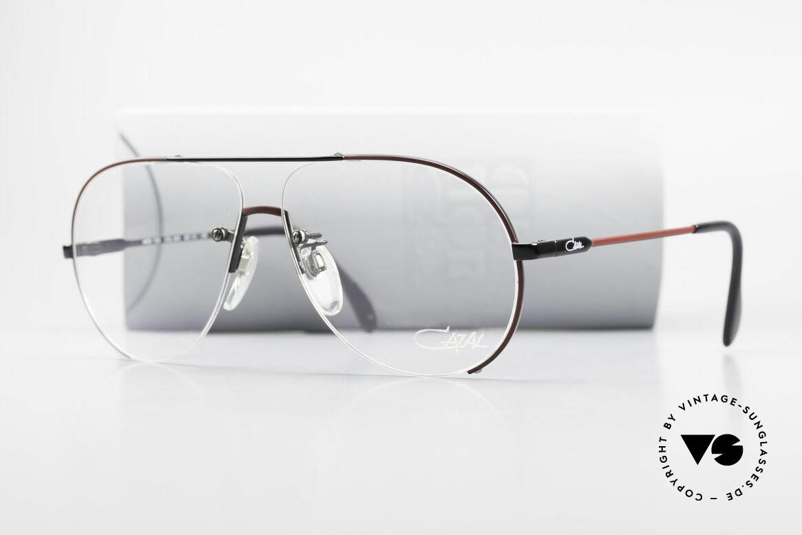 Cazal 723 Rimless 80's Aviator Glasses, Size: large, Made for Men