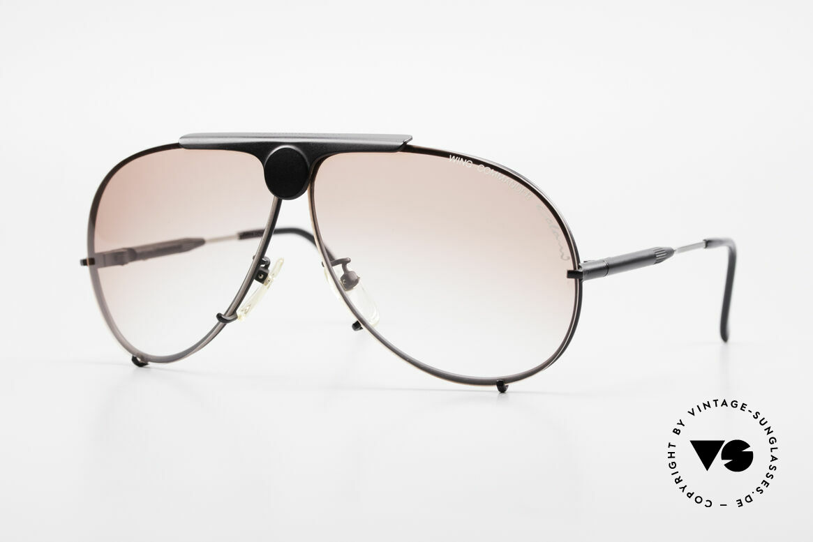 Colani 10-401 Wing Commander Optos Design, very flashy Luigi Colani sunglasses from the 80's, Made for Men