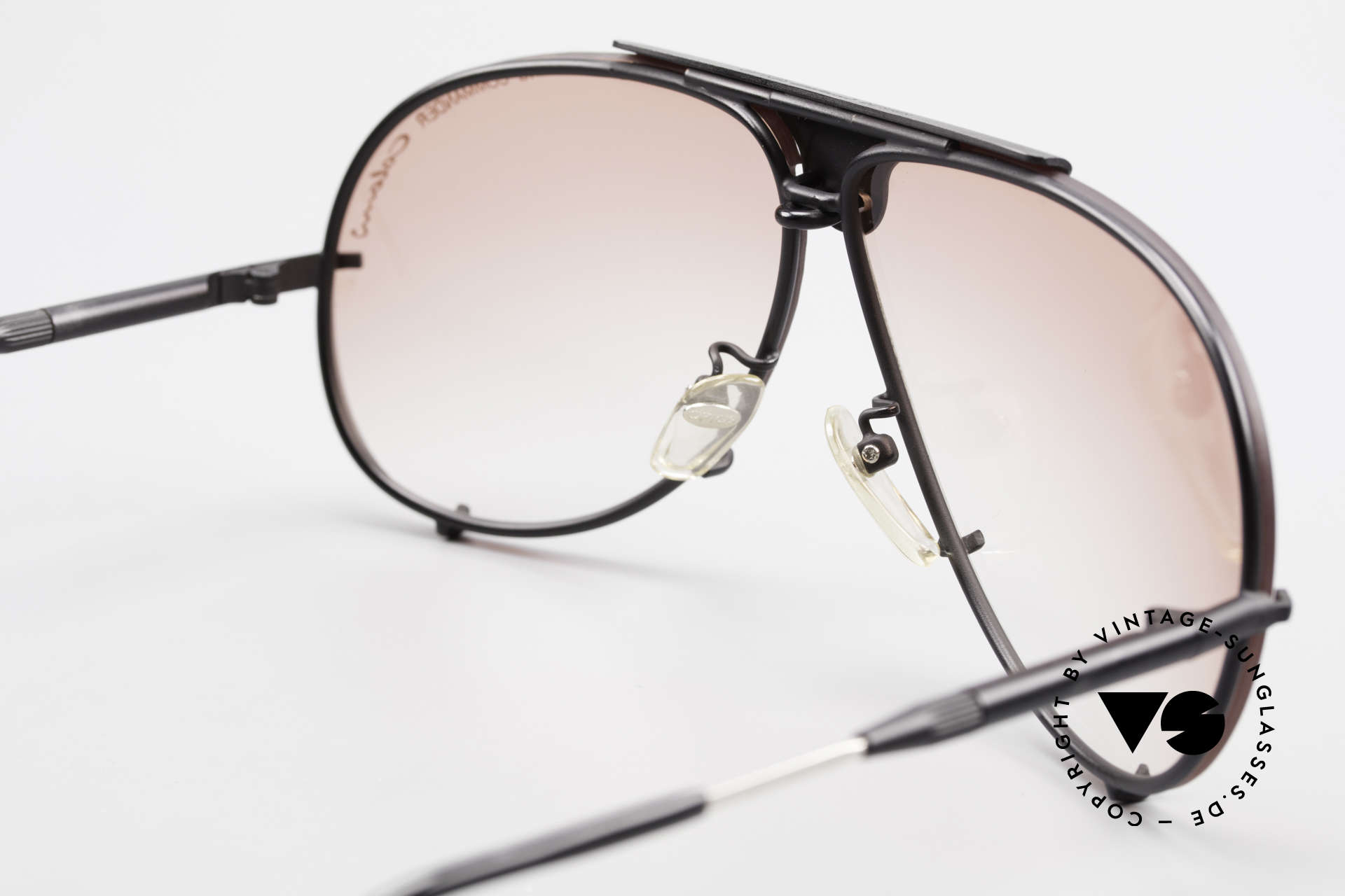 Colani 10-401 Wing Commander Optos Design, with ADJUSTABLE temple length (for a perfect fit), Made for Men