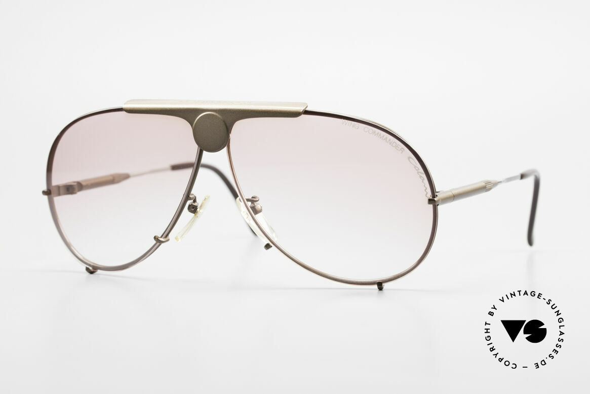 Colani 10-401 Adjustable Temple Length 80's, very flashy Luigi Colani sunglasses from the 80's, Made for Men