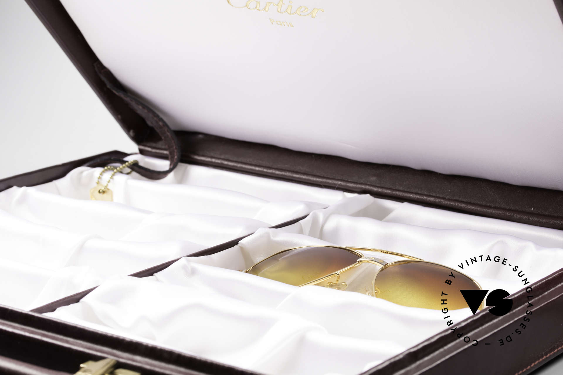 Cartier_ Case For 10 Glasses For all vintage Cartiers Frames, but the sunglasses ARE NOT PART of this offer, Made for Men and Women