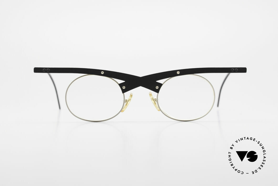 Theo Belgium Hio 11S Crazy 90's Vintage Eyeglasses, founded in 1989 as 'opposite pole' to the 'mainstream', Made for Men and Women