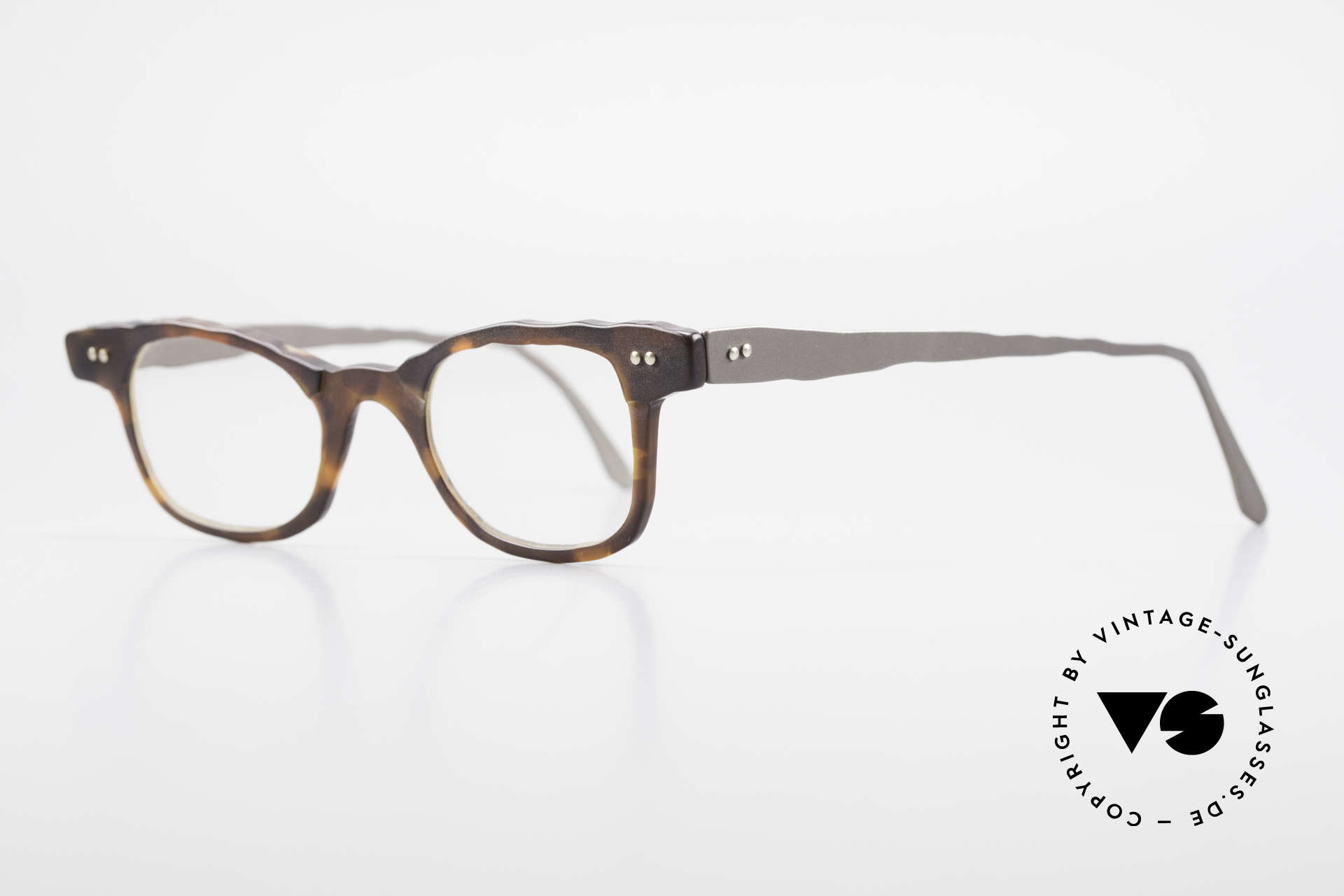 Theo Belgium Eye-Witness Avant-Garde Titanium Glasses, made for the avant-garde, individualists; trend-setters, Made for Men and Women